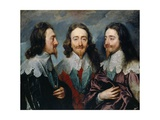 Charles I Giclee Print by Sir Anthony Van Dyck