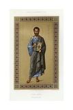 Book Illustration of Saint Mark Giclée-tryk