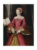 Portrait Print after Elizabeth Tudor Reproduction procédé giclée par Hans Holbein the Younger