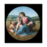 The Alba Madonna Reproduction procédé giclée par  Raphael