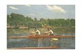 The Biglin Brothers Racing Giclee-trykk av Thomas Cowperthwait Eakins