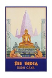 See India Poster Giclee Print by Dorothy Newsome