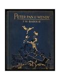 Cover of Peter Pan and Wendy Lámina giclée por J.M. Barrie