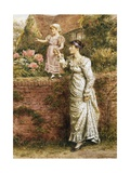The Balancing Act Giclee Print by George Goodwin Kilburne