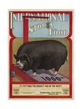 International Stock Food Advertising Poster Giclée-Druck