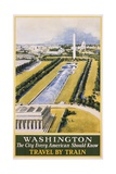 Washington Travel Poster Giclée-vedos