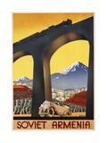 Soviet Armenia Poster Giclee Print
