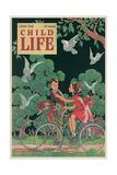Magazine Cover, Child Life Giclee Print