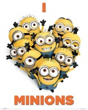 Despicable Me 2 - I Love Minions Plakater