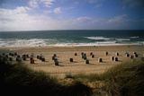 Wenningstedt Beach on Sylt Island Reproduction photographique par Nik Wheeler