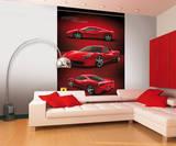 Ferrari Wandgemälde Fototapete Wandgemälde