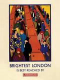 Transport For London - Brightest London Affiche