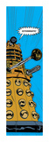 Doctor Who - Comic Dalek Juliste