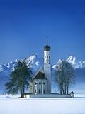 St. Coloman Church in Bavaria Fotografie-Druck von José Fuste Raga