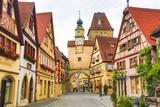 Rothenburg Ob Der Tauber Fotografie-Druck von José Fuste Raga