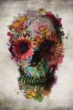 Flower Skull Julisteet