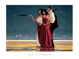 The Missing Man I Pôsters por Jack Vettriano