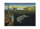 The Persistence of Memory Affiche par Salvador Dalí