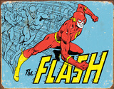 The Flash - Retro Tin Sign Tin Sign