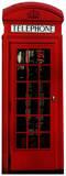 Phone box Pappfigurer