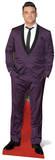 Robbie Williams - Purple Suit Silhouettes découpées en carton