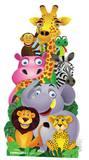 Jungle pile-up Cut-out Figura de cartón