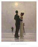 Tanz mit mir bis ans Ende der Liebe Poster von Jack Vettriano