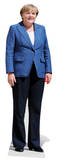 Angela Merkel Silhouettes découpées en carton