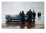La spiaggia di Pendine Poster di Vettriano, Jack