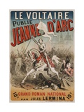 Jeanne D'Arc Poster Giclee Print by E. Mas