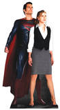 Superman and Lois Lane Pappfigurer