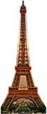 Torre Eiffel Figura de cartón