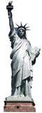 Statue de la Liberté Silhouettes découpées en carton