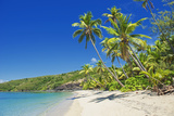 Tropical Beach, Drawaqa Island, Yasawa Island Group, Fiji, South Pacific Islands, Pacific Lámina fotográfica por Marco Simoni