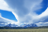 Horns of Paine Mountains, Torres Del Paine National Park, Patagonia, Chile, South America Photographic Print by Marco Simoni