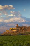 Armenia, Yerevan, Ararat Plain, Khor Virap Armenian Apostolic Church Monastery Photographic Print by Jane Sweeney