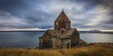 Armenia, Lake Seven, Sevanavank Monastery Photographic Print by Jane Sweeney