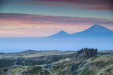 Armenia, Aragatsotn, Yerevan, Amberd Fortress Located on the Slopes of Mount Aragats Photographic Print by Jane Sweeney