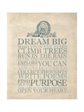 Dream Big Pósters por Morgan Yamada