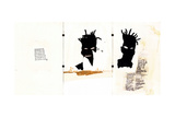 Self-portrait Giclee Print by Jean-Michel Basquiat
