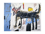 Part Wolf Reproduction procédé giclée par Jean-Michel Basquiat