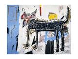 Part Wolf Giclée-tryk af Jean-Michel Basquiat
