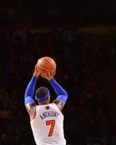Jan 24, 2014, Charlotte Bobcats vs New York Knicks - Carmelo Anthony Foto af David Dow
