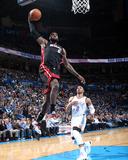 Feb 20, 2014, Miami Heat vs Oklahoma City Thunder - LeBron James Photo by Layne Murdoch