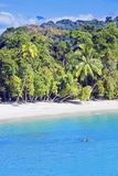 Tropical Beach, Manuel Antonio National Park, Costa Rica Photographic Print by Marco Simoni