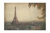 Paris Silhouette Poster by Paulo Romero