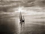 Le yacht Diamond Head dans la course de Swiftsure Affiches par Ray Krantz