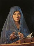 The Virgin Annunciate Giclée-tryk af  Antonello da Messina