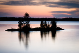 Twilight on the Lake II Reproduction photographique par Beth Wold
