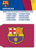 Barcelona Crest Card Holder Novelty
